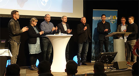 Der neue Aufsichtsrat des Chemnitzer FC e.V.